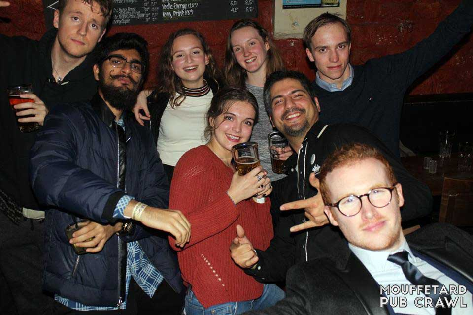 Pub Crawl Paris Mouffetard (94)